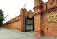 泰国清迈古城墙