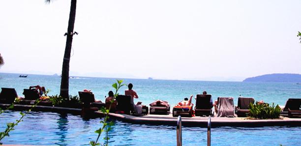 泰国莱利湾