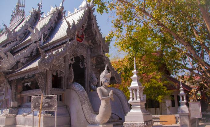 泰国清迈素攀寺