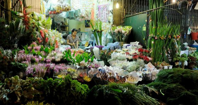 泰国派克隆花市