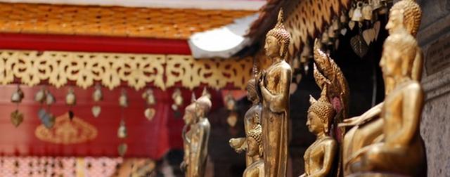 泰国清迈素帖寺