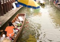 泰国大林江水上市场