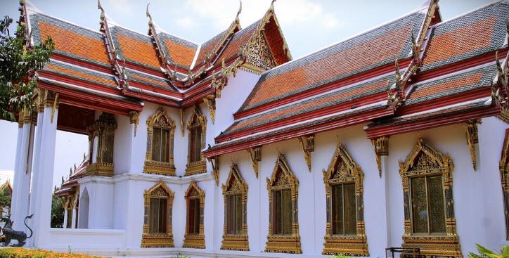 泰国曼谷五世皇柚木行宫