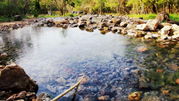 泰国拜县温泉