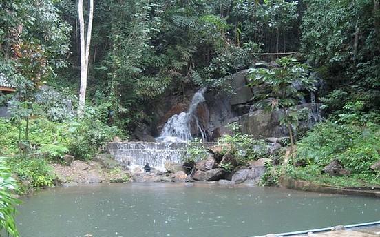 泰国卡图瀑布