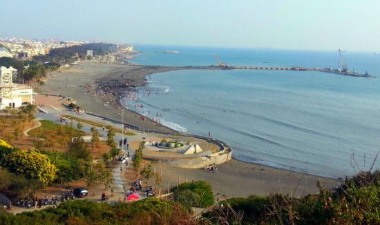 台湾西子湾海水浴场