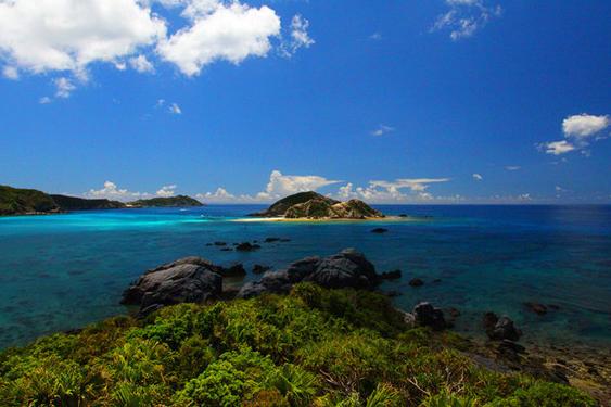 日本冲绳渡嘉敷岛