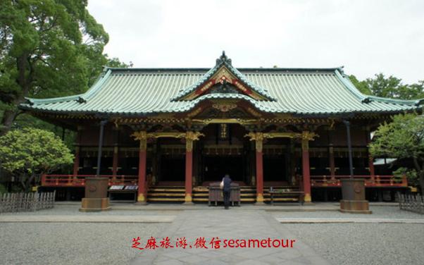 日本东京根津神社
