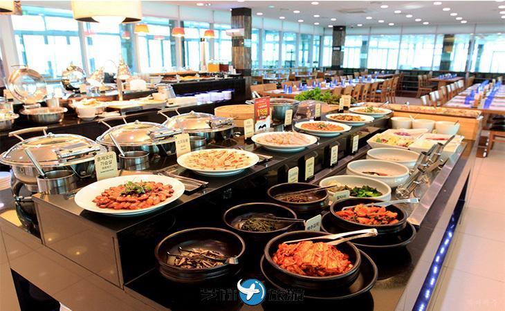 韩国济州岛香格里拉海鲜自助餐
