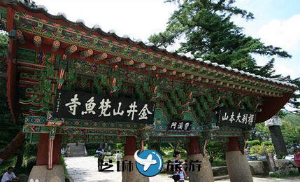 韩国梵鱼寺名称由来