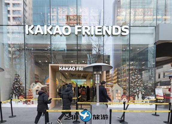 韩国KAKAO FRIENDS SHOP 弘大店