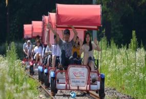 韩国首尔晨静树木园+江村Rail Bike+瑞士村一日游包车服务