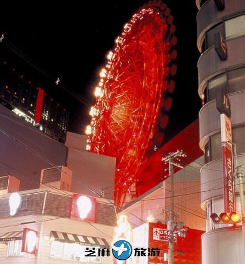 日本大阪 HEP FIVE摩天轮
