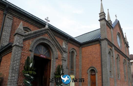 韩国自由行包车 韩国大邱桂山洞天主教堂