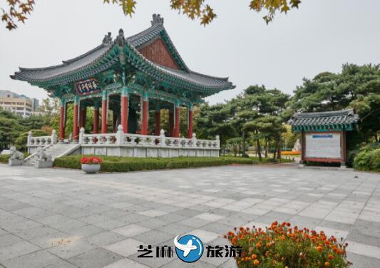 韩国大邱自由行 韩国大邱国债报偿运动纪念公园