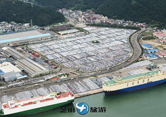 韩国现代汽车蔚山工厂