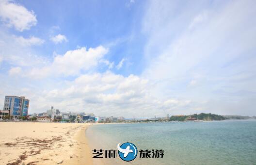 韩国蔚山包车 韩国蔚山日山海水浴场