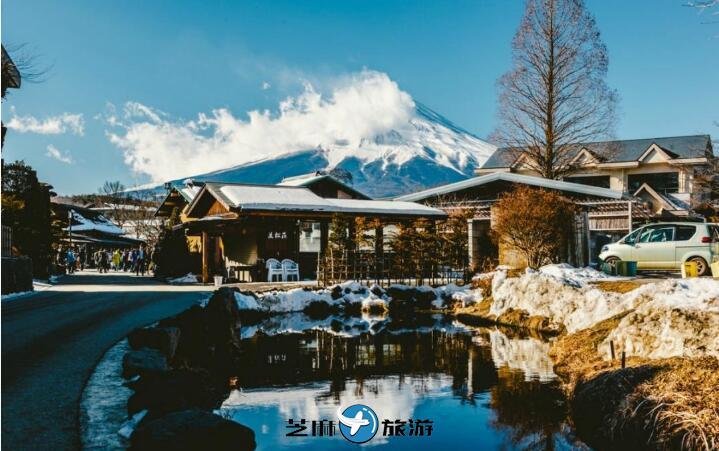 富士山河口湖・富岳风穴・鸣沢冰穴・忍野八海 东京一日游包车服务