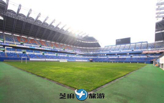 韩国大田导游 韩国大田世界杯体育场