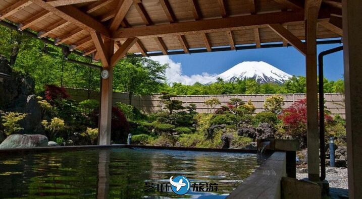 日本世界遗产富士山・山中湖露天温泉一人成行包车服务