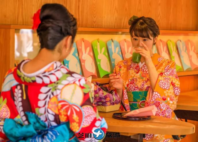 日本东京VASARA和服体验浅草店