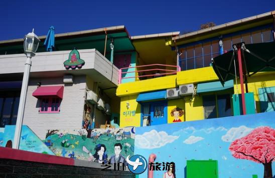 韩国全州 满壁画村 韩国地陪包车
