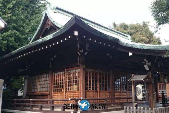 日本东京冰川神社
