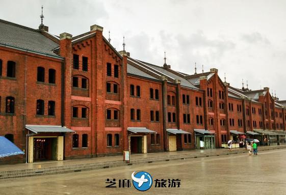 日本红砖仓库