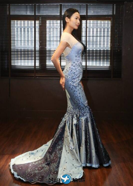 泰国思蕊公主亲自设计环球小姐服装