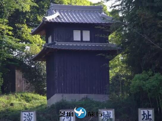 日本神户淡河城