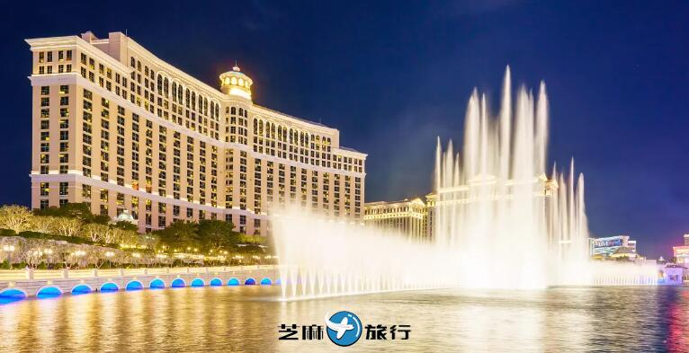 美国百乐宫喷泉
