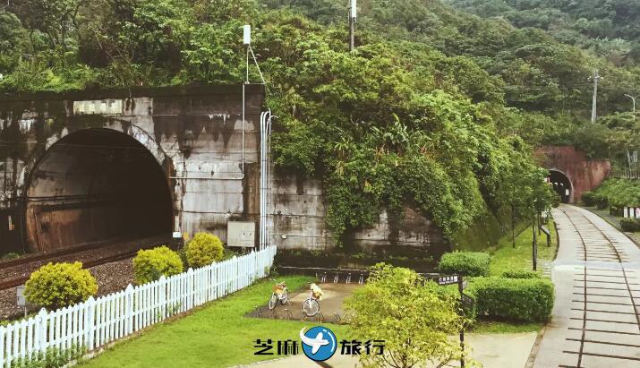 台湾旧草岭自行车隧道