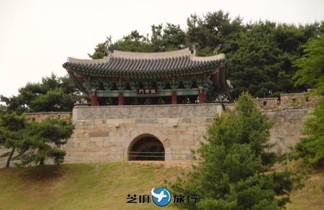 韩国清州上党山城