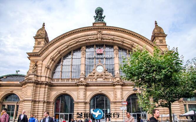 德国法兰克福火车总站