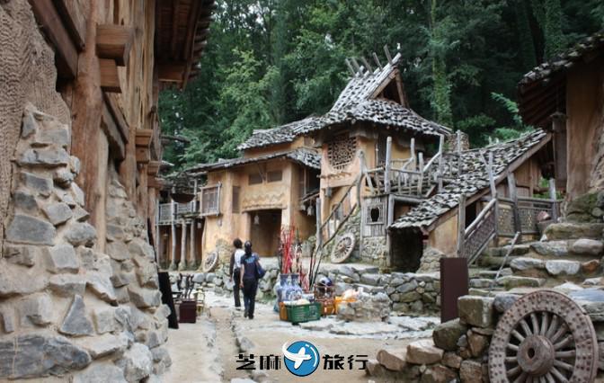 韩国高句丽炼铁房村庄