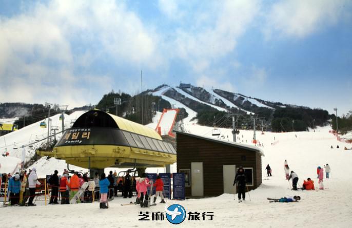 韩国WELLI HILLI PARK滑雪场