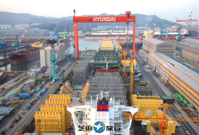 韩国蔚山现代重工业