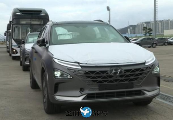 韩国现代汽车向沙特出口氢燃料商用车