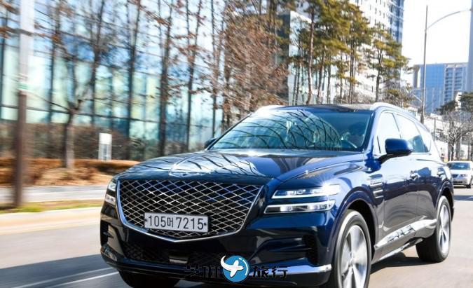 韩国现代汽车捷尼赛思GV80在美国预售量破2万
