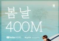 韩国防弹少年团《春日》MV播放量破4亿